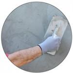 plaster-mixing